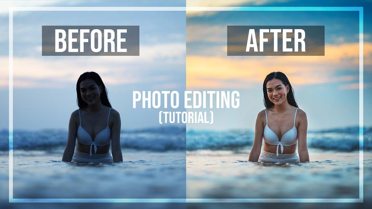 Bước chỉnh sửa cũng quan trọng không kém lúc chụp