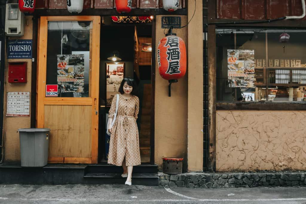 Mẹ có thể thực hiện những shoot hình đậm chất Nhật ngay tại Sài Gòn
